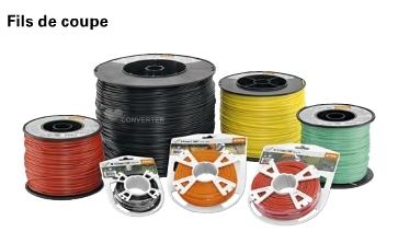 FILS DE COUPE ROND 1.4MM 16M