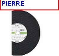 DISQUE PIERRE 300 X 3.5