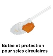 BUTEE DE PROTECTION 200 MM