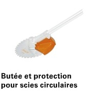 BUTEE DE PROTECTION 225 MM