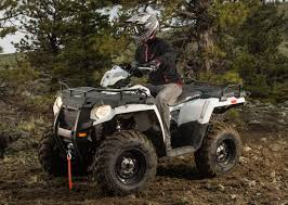 ATV SPORTSMAN FOREST EPS - BLANC