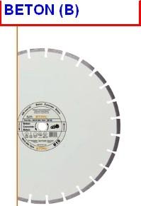 DISQUE DIAMANT B60  300MM
